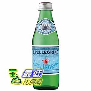 [COSCO代購  如果沒搶到鄭重道歉] San Pellegrino 聖沛黎洛 天然氣泡水 250毫升 X 24瓶_W109326