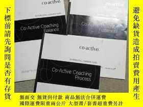 二手書博民逛書店CO-ACTIVE罕見COACHING PROCESS experiential learning GUIDE(3