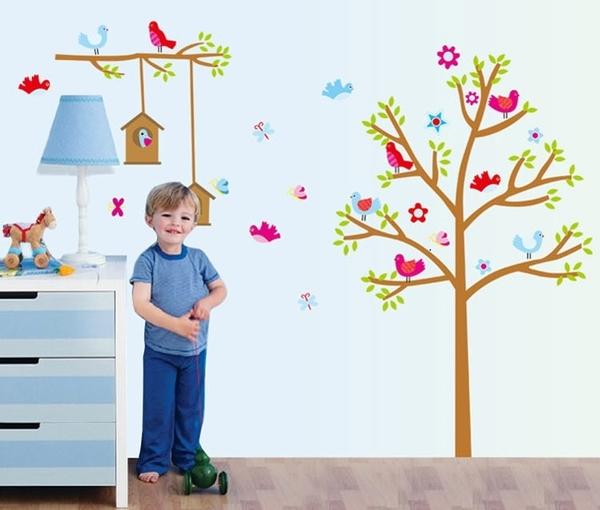 壁貼--樹屋 AY9097-266 聖誕節交換禮物 【AF01013-266】99愛買小舖