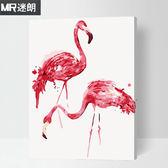 diy數字油畫客廳餐廳動物自己手工繪畫數碼