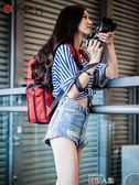 攝影背包銳瑪數碼相機包攝影包單反雙肩包休閒背包便攜佳能尼康索尼微單包 數碼人生igo