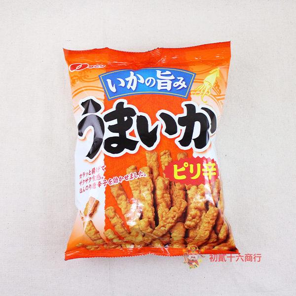 日本零食全珍_花枝脆餅(辣味)140g【0216零食團購】4902181082805