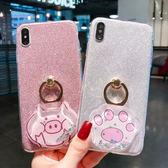 流沙殼 HTC Desie 12 Plus 手機殼 貓爪 小豬 閃粉殼 指環支架 全包 卡通殼 保護套 軟殼