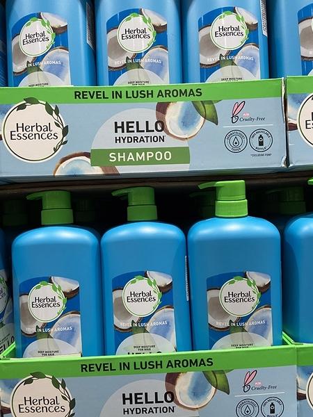 [COSCO代購] C128942 HERBAL ESSENCES HAIR BODY 二合一洗髮沐浴乳1.18公升