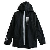 Adidas 愛迪達 M WND JKT FL  連帽外套 DZ0052 男 健身 透氣 運動 休閒 新款 流行