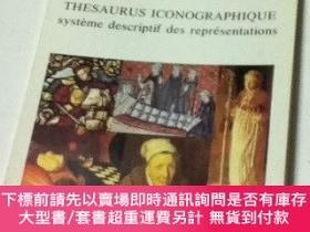 二手書博民逛書店佛文)Thesaurus罕見iconographique : systeme descriptif des rep