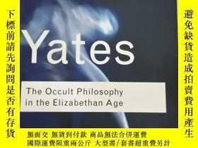 二手書博民逛書店The罕見Occult Philosophy in the El