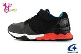 Moonstar 月星 HI系列 日本機能鞋 中大童 運動鞋 慢跑鞋 I9633#黑色◆OSOME奧森鞋業