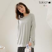東京著衣-tokichoi-懶女必敗寬鬆棉質長版衛衣(172181)