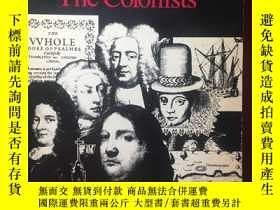 二手書博民逛書店英文原版:Representative罕見Americans # The colonistsY367822 N