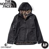 【The North Face 男 DryVent防水外套《黑/迷彩》】4NCM/防風外套/風衣/夾克