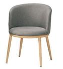 【南洋風休閒傢俱】單椅系列-美諾瑪餐椅 鐵管餐椅 布洽談椅 CM1062-9-10