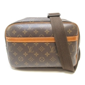 LOUIS VUITTON LV 路易威登 原花斜背記者包 Reporter PM M45254【BRAND OFF】