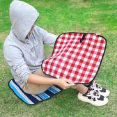 野餐墊ins風戶外郊游防水小坐墊野餐布草坪坐墊沙灘瑜伽坐墊【帝一3C旗艦】