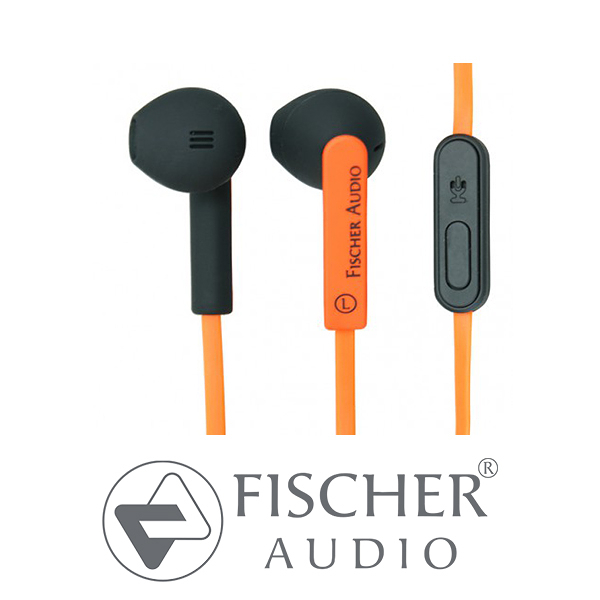 Fischer Audio 耳道式 耳塞式 扁線 防汗水 耳機 FA-555i Improved