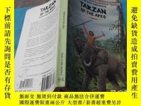 二手書博民逛書店(英文原版)TARZAN罕見OF THE APES(人猿泰山)Y