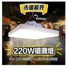 220W LED照明燈 露營燈 擺攤燈 露營 車庫燈 工作燈 led燈 帳篷燈 帳棚燈 夜市燈 快速出貨