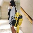 限定款後背包-書包女 正韓原宿防潑水高中學生背包電腦包旅行大容量正韓後背包