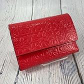 BRAND楓月 LOEWE 羅意威 粉漆皮短夾 桃紅 錢包 皮夾 錢夾 小錢包 卡夾 漆皮 滿版壓紋 暗釦