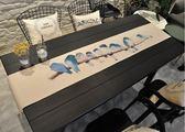 訂製桌旗北歐棉麻布藝桌布現代簡約台布餐桌中式茶幾長方形桌布餐桌巾    提拉米蘇