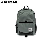 【橘子包包館】AIRWALK 自在行旅休閒後背包 A825320212 灰色