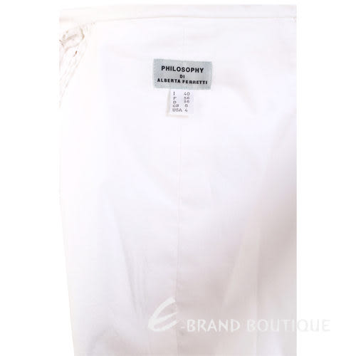 PHILOSOPHY白色洞洞設計小外套 0920129-20