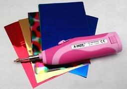 DIY燙金筆/AA電池/多色燙金/工藝/安全/設計/美術/創意/勞作/免插電/個性化/創作/突破傳統/全球通用