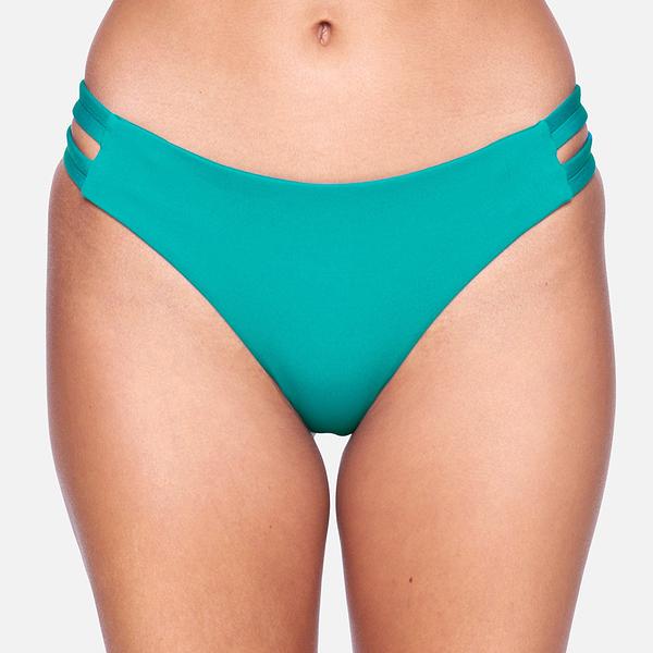 HURLEY|女 MAX SOLID MOD BOTTOM 比基尼褲
