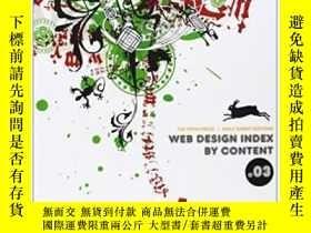二手書博民逛書店Web罕見Design Index By Content 3 (web Design Index)-網頁設計內容索