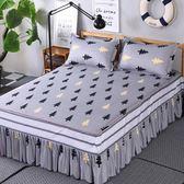 床罩席夢思床罩床套床裙單件公主床蓋床單床笠1.81.52.0m米