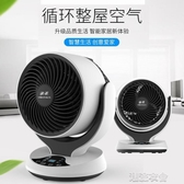 空氣迴圈扇家用電風扇渦輪對流扇靜音搖頭小型台式迴圈電風扇【快速出貨】