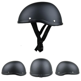 男女酷復古防曬帽子夏天摩托車頭盔通用輕便式電動半機車