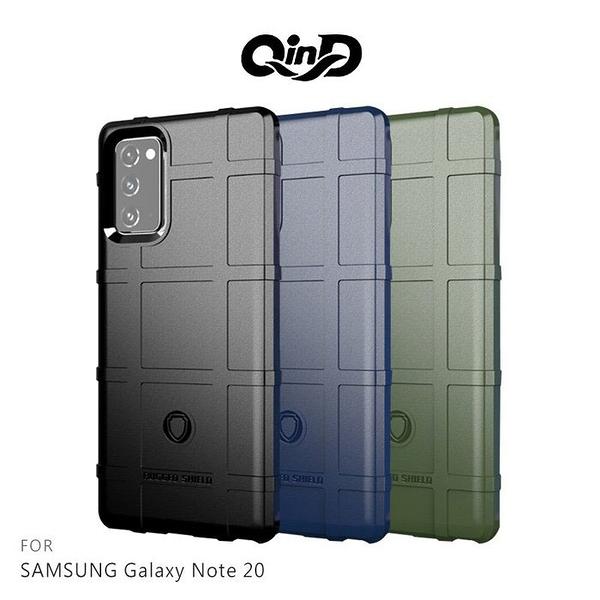 QinD SAMSUNG Galaxy Note 20、Note 20 Ultra 戰術護盾保護套