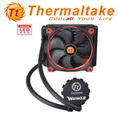 Thermaltake 曜越科技 Water3.0 Riing Red 140 一體式水冷散熱排 CL-W150-PL14RE-A