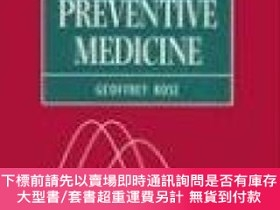 二手書博民逛書店The罕見Strategy Of Preventive MedicineY255174 Rose, Geoff