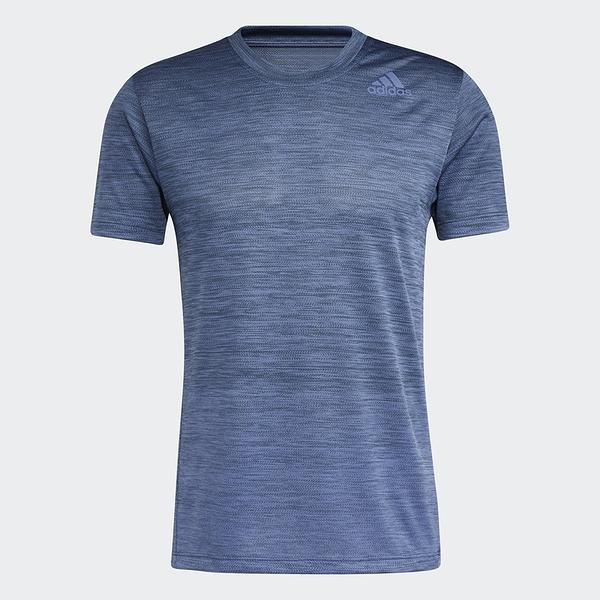 ADIDAS TECH GRADIENT 男裝 短袖 慢跑 訓練 透氣 排汗 吸濕 舒適 藍【運動世界】GM0636