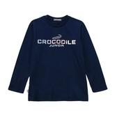 『小鱷魚童裝』LOGO銀蔥印花T恤(08號~18號)556403
