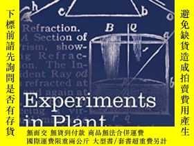 二手書博民逛書店Experiments罕見In Plant Hybridisat