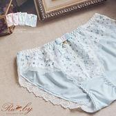 內褲 清新花朵蕾絲牛奶絲內褲-Ruby s 露比午茶