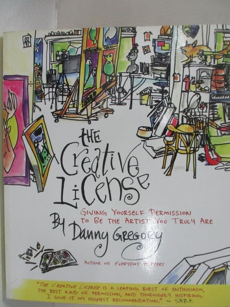 【書寶二手書T1/藝術_EHR】The Creative License: Giving Yourself Permission…