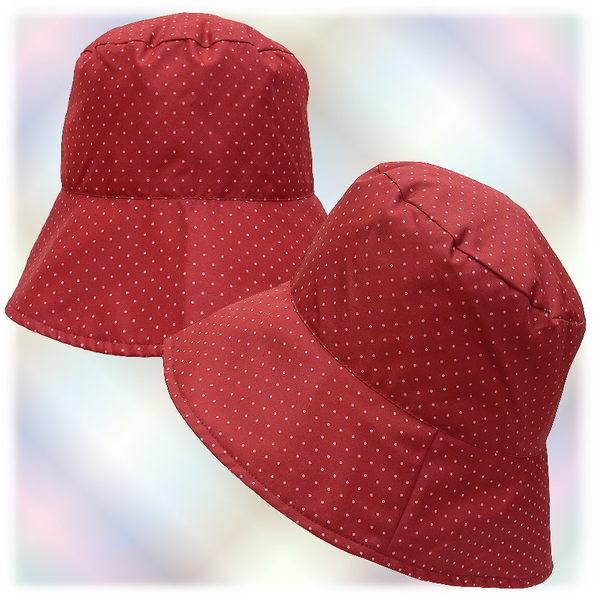 【波克貓哈日網】造型雨帽◇vallee la loire◇《紅色水玉》防潑水