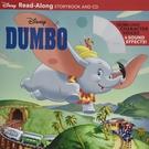 Dumbo Read-Along Storybook And CD 小飛象有聲讀本(一平裝繪本+一CD)