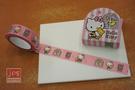 Hello Kitty 裝飾紙膠帶 紙膠帶 熊娃娃