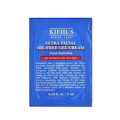 KIEHLS契爾氏 冰河醣蛋白無油清爽凝凍 3ml 試用包 體驗包《小婷子》
