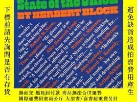 二手書博民逛書店Herblock s罕見state of the Union 赫布洛克的國情咨文Y222470 看圖 出版
