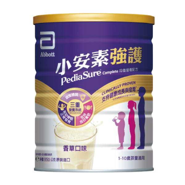 [效期2022/04/24]亞培小安素強護Complete均衡營養配方850g【杏一】