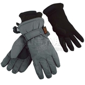 Snow Travel 雪之旅 AR-03灰色 SKI DRI 二合一透氣保暖機能手套 登山防風手套 滑雪騎車手套