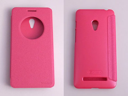 NILLKIN ASUS ZenFone 6(A600CG) 側翻手機保護皮套 SPARKLE 新皮士系列-星韻