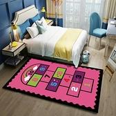 地毯臥室床邊毯寶寶爬行墊水洗早教地墊【極簡生活】