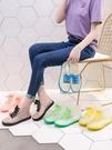 雨鞋 透明可愛成人短筒雨鞋女防水鞋防滑膠鞋套鞋韓國時尚款外穿雨靴夏 快速發貨